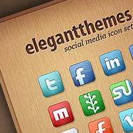 Gratis sociale media icoontjes